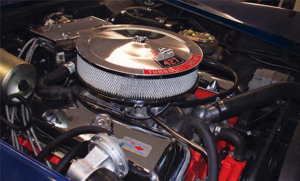 1968 CHEVROLET CORVETTE CONVERTIBLE - Engine - 61503