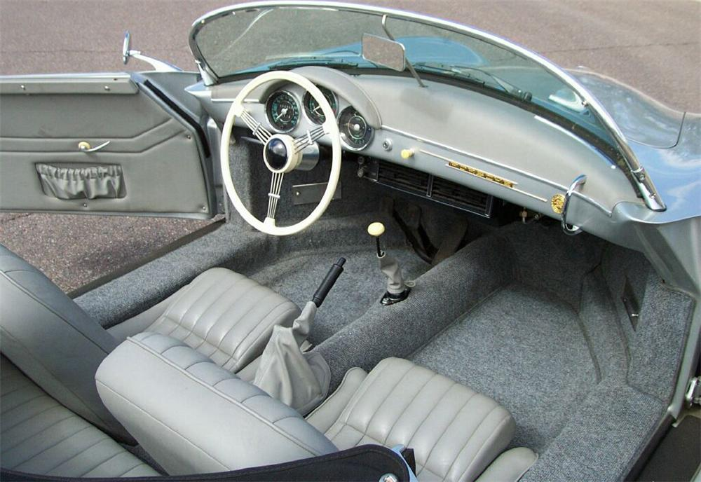 1957 PORSCHE SPEEDSTER CONVERTIBLE RE-CREATION - Interior - 61508