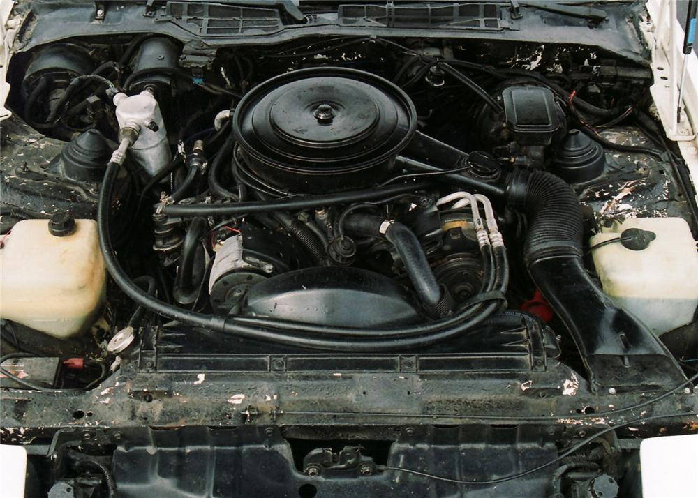 1985 PONTIAC TRANS AM CONVERTIBLE - Engine - 61511