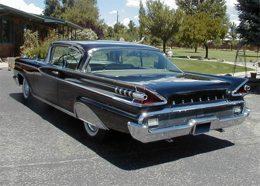 1959 mercury montclair 2 door hardtop