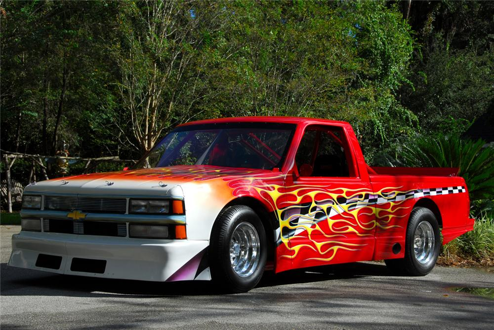 1989 GMC CUSTOM PICKUP - Front 3/4 - 61517