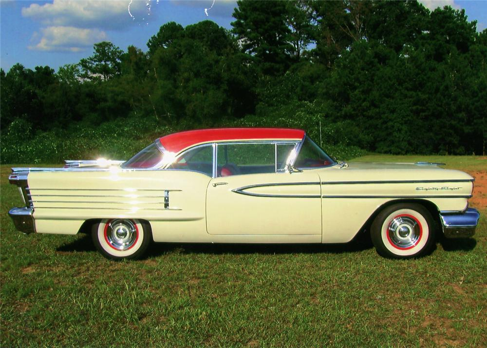 1958 OLDSMOBILE 88 2 DOOR COUPE