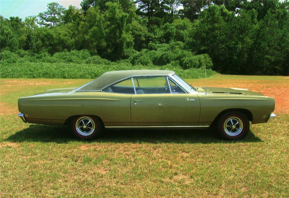 1968 PLYMOUTH ROAD RUNNER 2 DOOR HARDTOP - Side Profile - 61523