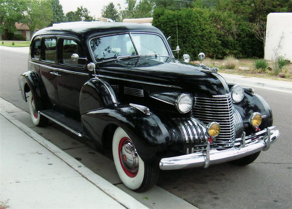 1940 Cadillac Series 75 Limousine Sedan 61530