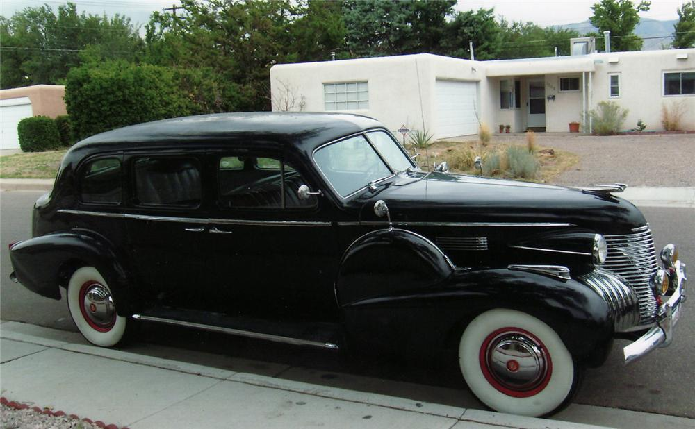 1940 CADILLAC SERIES 75 LIMOUSINE SEDAN - Side Profile - 61530