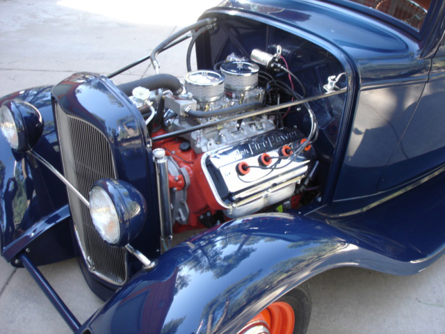 1932 FORD 2 DOOR CUSTOM COUPE - Engine - 61532