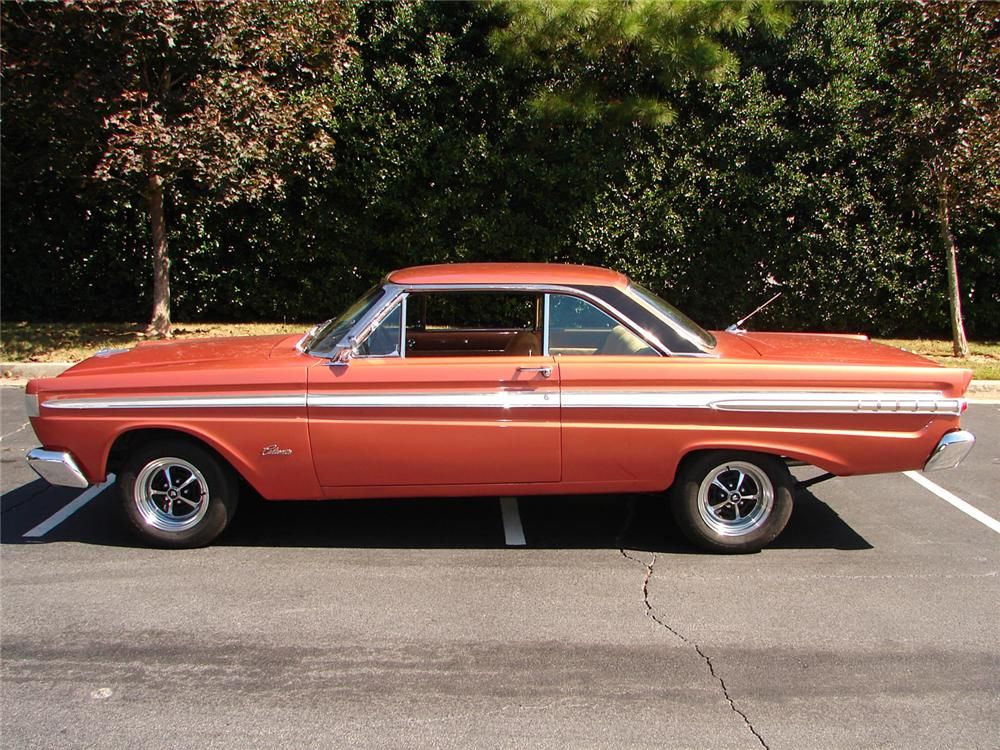 1964 MERCURY COMET CALIENTE 2 DOOR HARDTOP - Side Profile - 61533
