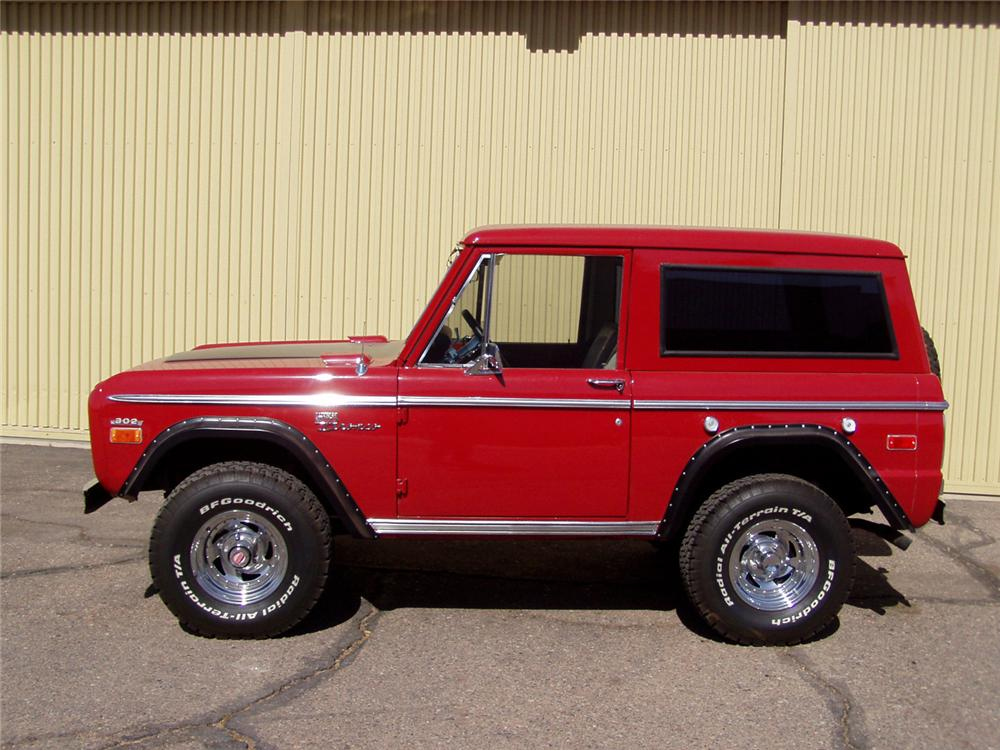 1971 FORD BRONCO 4X4 SPORT - Front 3/4 - 61540