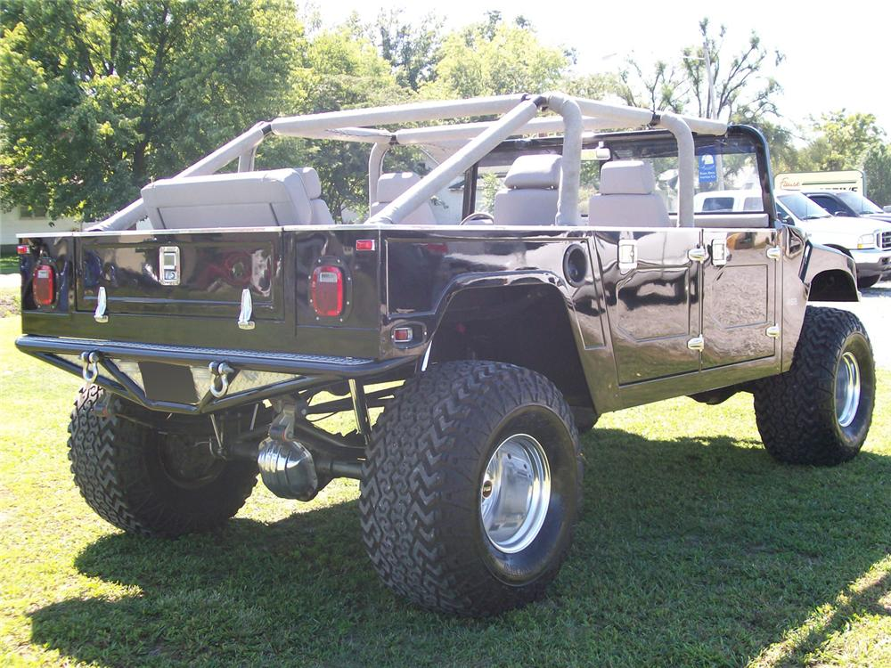 1980 GMC HUMMER CUSTOM PICKUP - Rear 3/4 - 61575