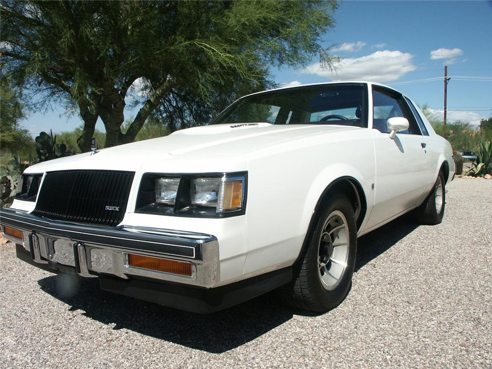 1987 BUICK REGAL LIMITED 2 DOOR COUPE - Front 3/4 - 61576