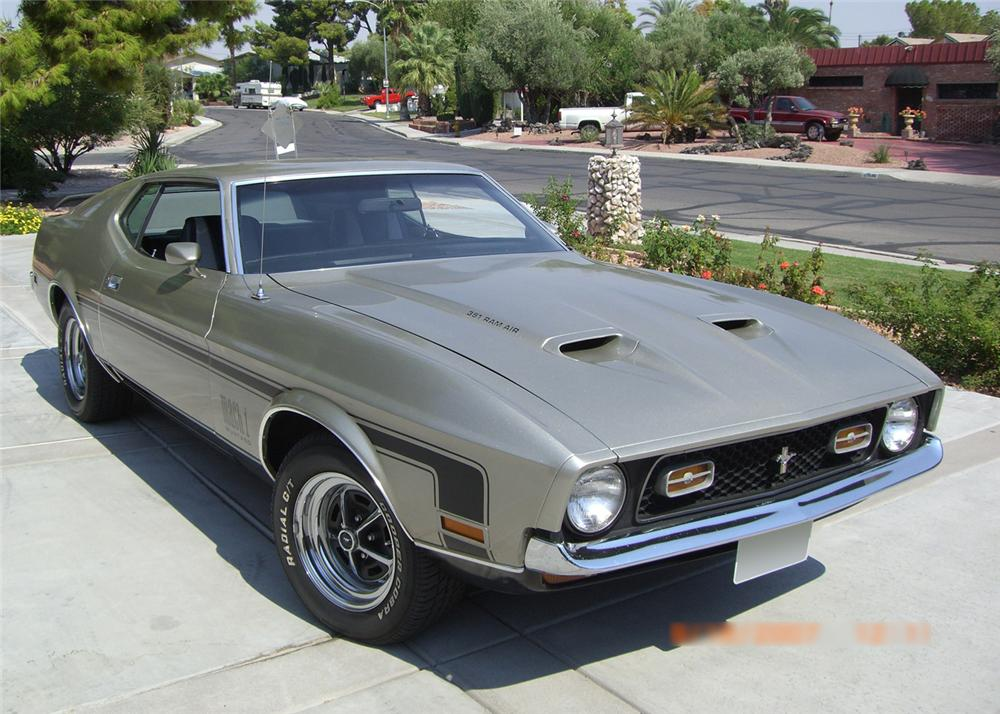 1972 ford mustang mach - photo #28