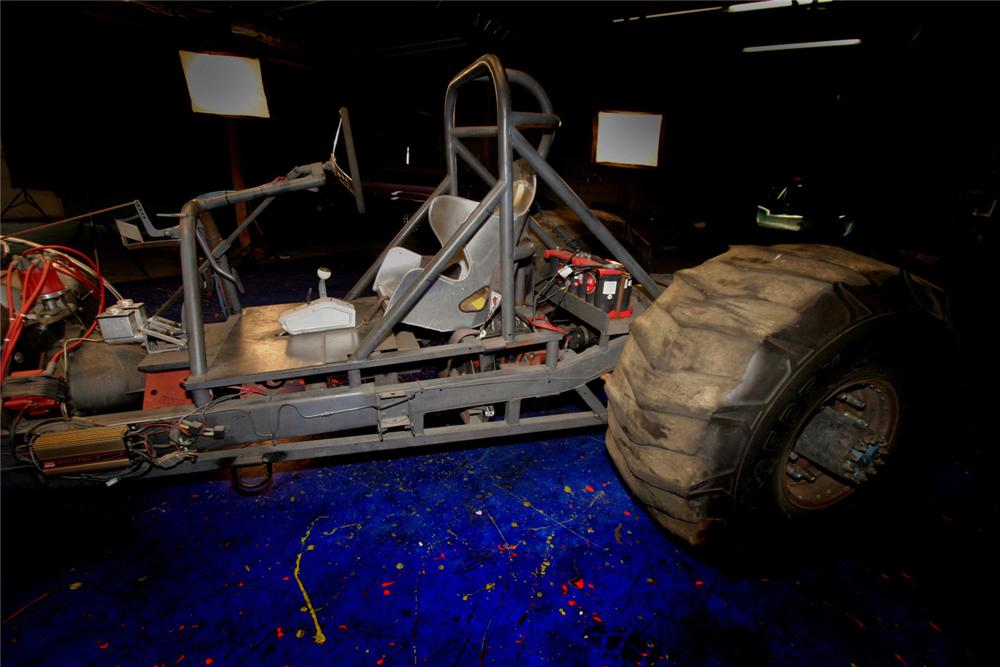 """1945 JEEP WILLYS CUSTOM """"ARMY TRACTOR PULL"""" - Interior - 61597"""