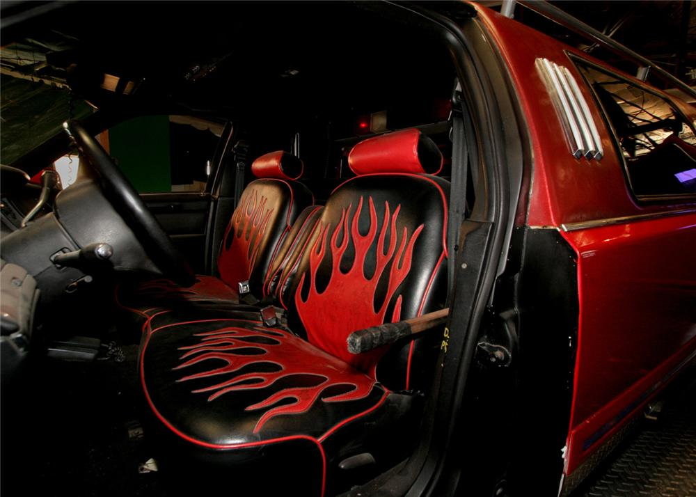 "1996 LINCOLN TOWNCAR CUSTOM ""FIRE TRUCK LIMO"" - Interior - 61598"