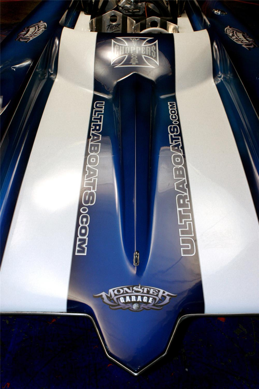 "2004 ULTRA SHADOW PICKLE-FORK CUSTOM ""JET BOAT CAR"" - Interior - 61599"