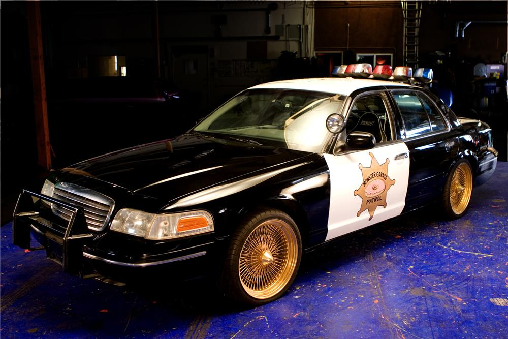 1998 Ford Crown Victoria Custom Doughnut Shop Cop Car