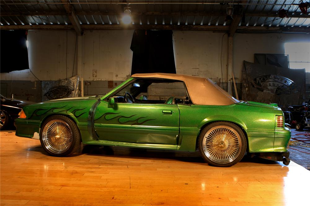 "1990 FORD MUSTANG CUSTOM ""SWITCHBLADE"" - Front 3/4 - 61602"
