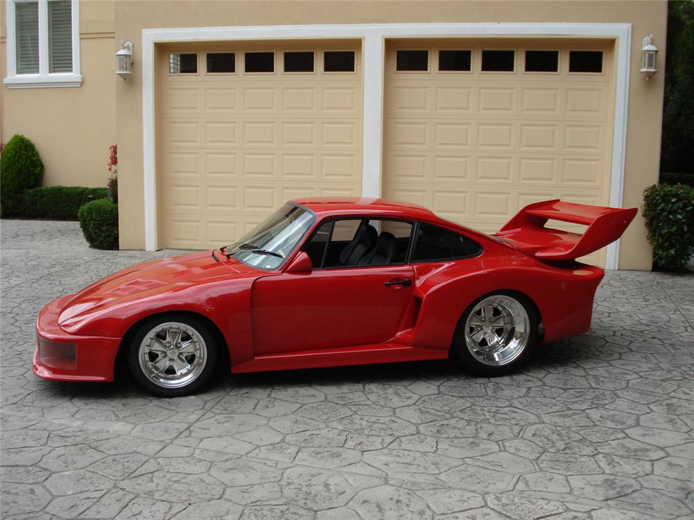 1974 PORSCHE 935 RE-CREATION - Side Profile - 61603