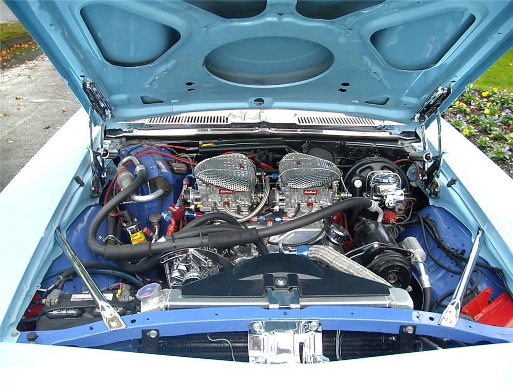 1969 CHEVROLET CAMARO RS/SS CUSTOM COUPE - Engine - 61635