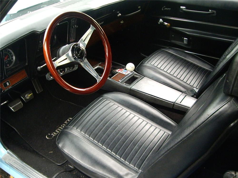 1969 CHEVROLET CAMARO RS/SS CUSTOM COUPE - Interior - 61635