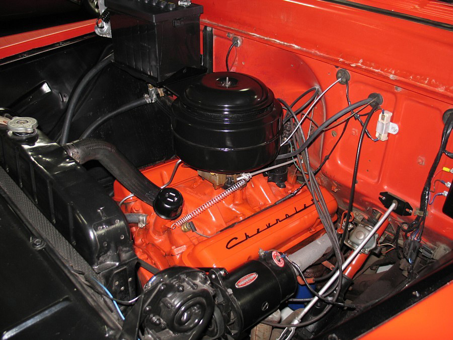 1956 CHEVROLET CAMEO 3100 PICKUP - Engine - 61646