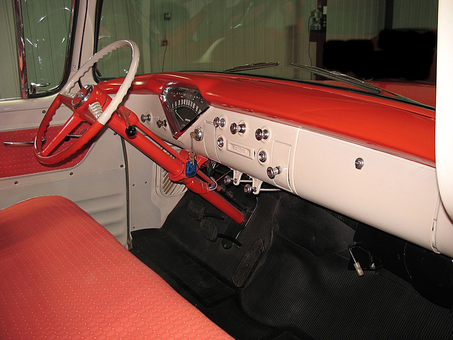 1956 CHEVROLET CAMEO 3100 PICKUP - Interior - 61646