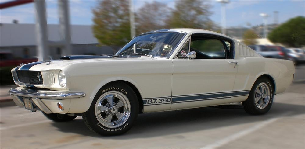 1965 SHELBY GT350 FASTBACK - Front 3/4 - 61651