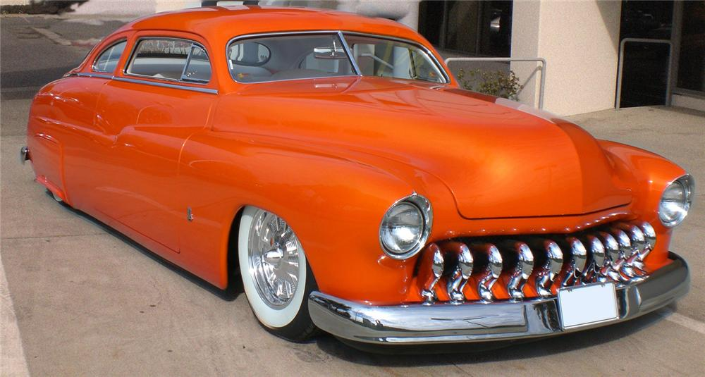 1950 MERCURY CUSTOM 2 DOOR COUPE - Front 3/4 - 61652