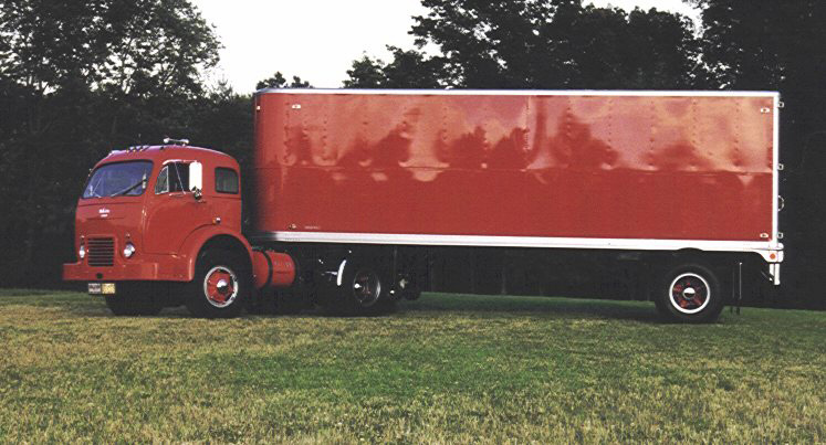 1953 WHITE 3000 CABOVER TRACTOR - Side Profile - 61658
