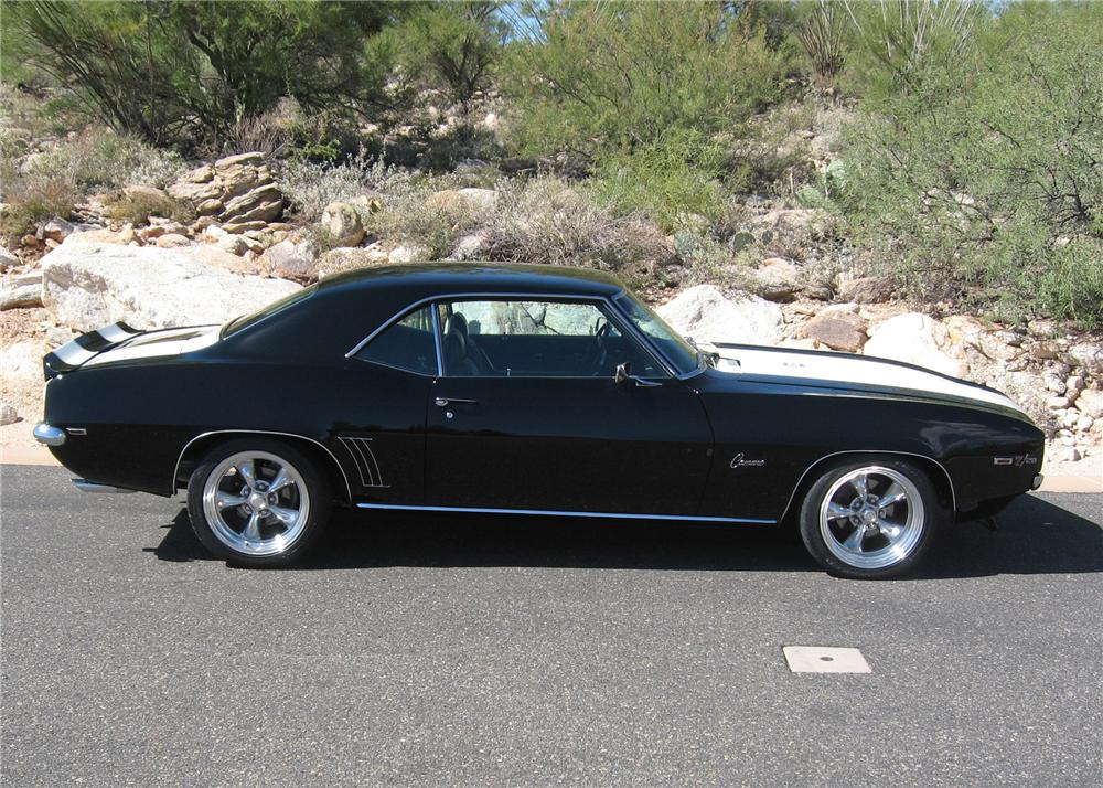 1969 CHEVROLET CAMARO Z/28 COUPE - Side Profile - 61660