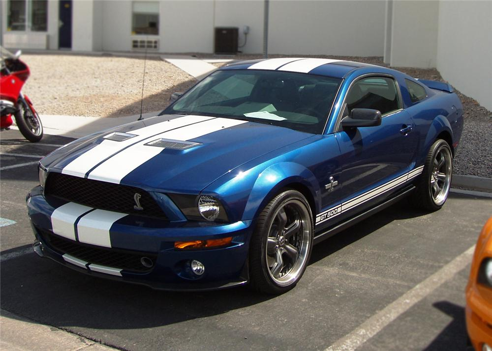 2007 FORD SHELBY GT500 FASTBACK PROTOTYPE - Front 3/4 - 61686