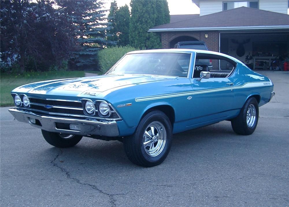 1969 chevelle dick herald