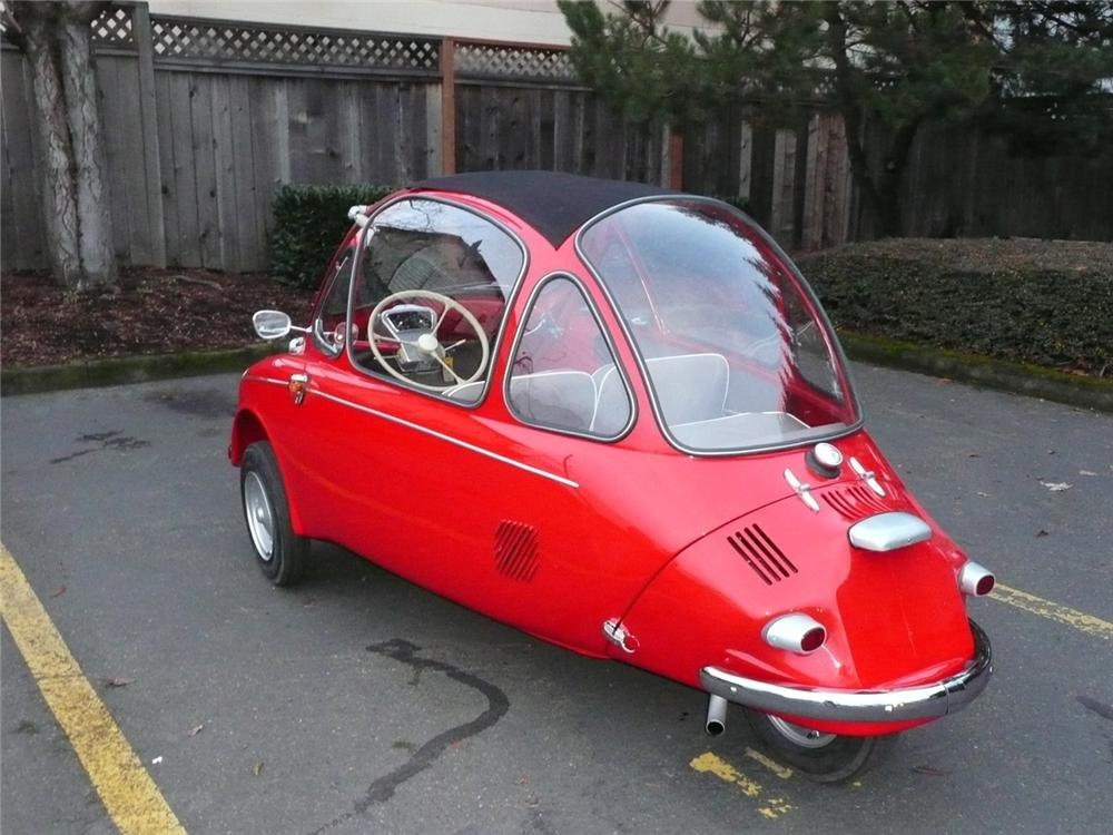 1963 HEINKEL TROJAN 1 DOOR COUPE - Rear 3/4 - 61690