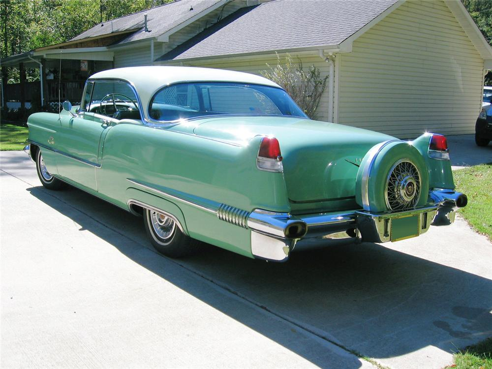 1956 CADILLAC COUPE DE VILLE 2 DOOR HARDTOP - Rear 3/4 - 61693
