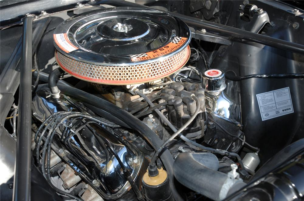1965 FORD MUSTANG GT CONVERTIBLE - Engine - 61695