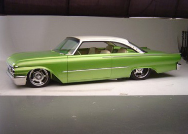 "1961 FORD STARLINER CUSTOM 2 DOOR HARDTOP ""SR61"" - Front 3/4 - 61698"