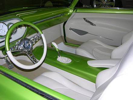 "1961 FORD STARLINER CUSTOM 2 DOOR HARDTOP ""SR61"" - Interior - 61698"
