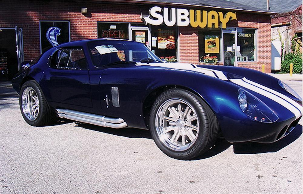 1965 SHELBY DAYTONA COUPE RE-CREATION - Front 3/4 - 61704