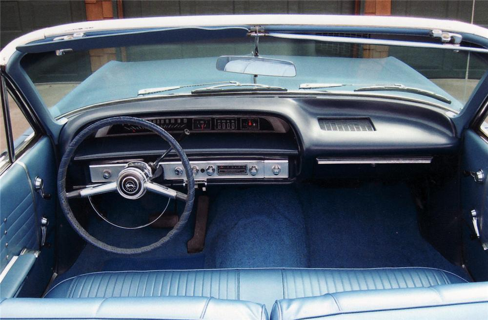 1964 CHEVROLET IMPALA CONVERTIBLE - Interior - 61724