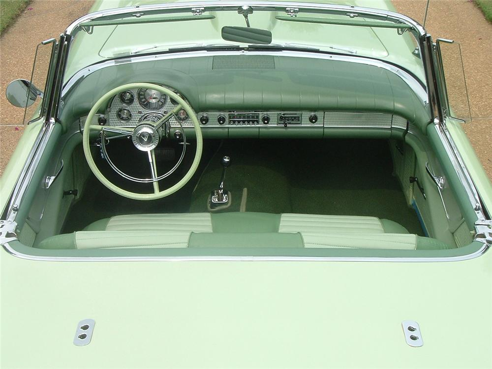 1957 FORD THUNDERBIRD CONVERTIBLE - Interior - 61732