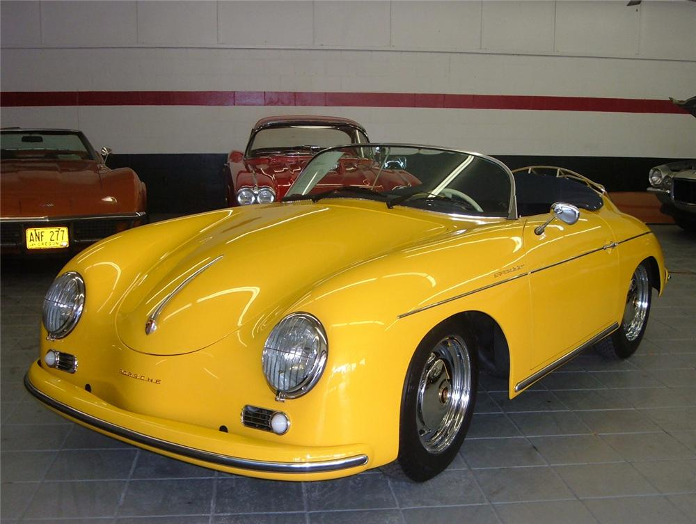 1957 PORSCHE 356 SPEEDSTER RE-CREATION - Front 3/4 - 61742