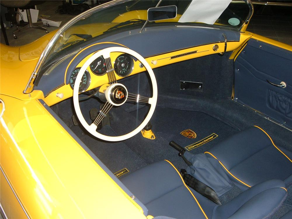 1957 PORSCHE 356 SPEEDSTER RE-CREATION - Interior - 61742