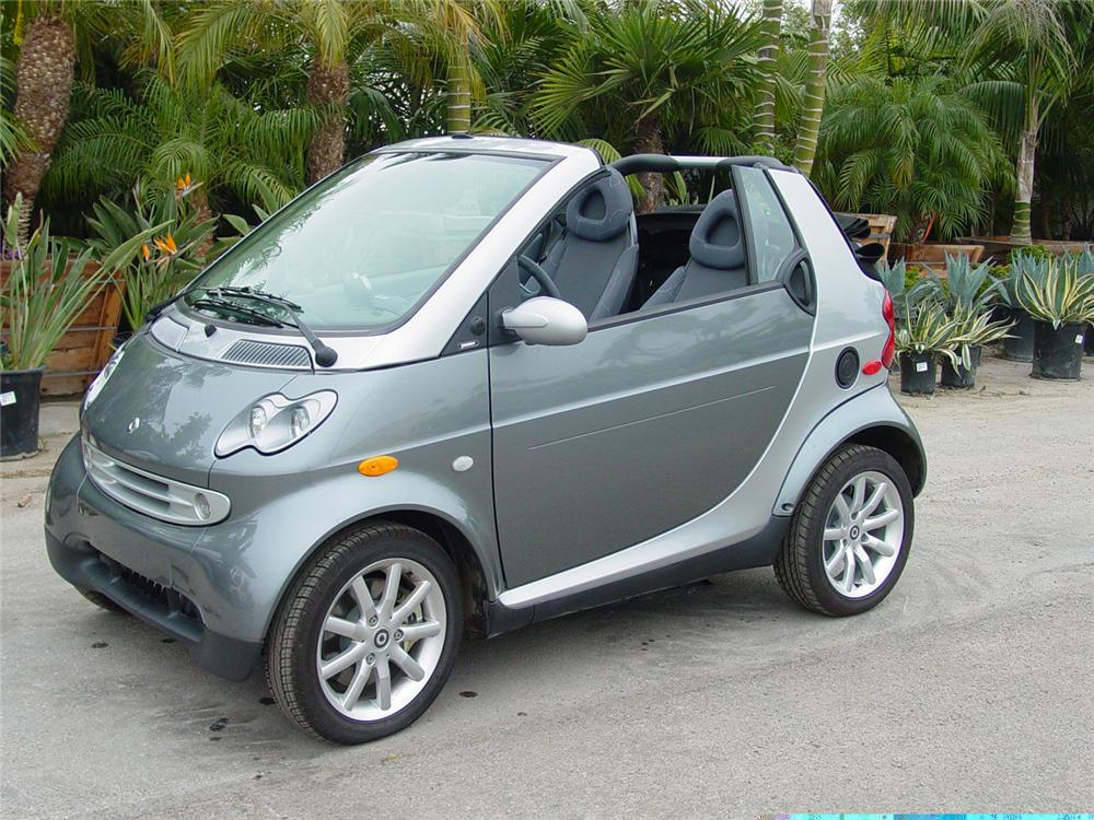 2007 smart car cabrio fortwo convertible 61744. Black Bedroom Furniture Sets. Home Design Ideas