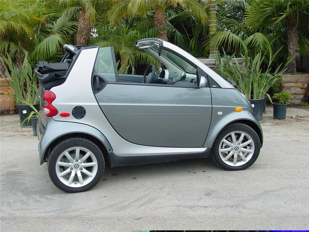 2007 SMART CAR CABRIO FORTWO CONVERTIBLE - Side Profile - 61744