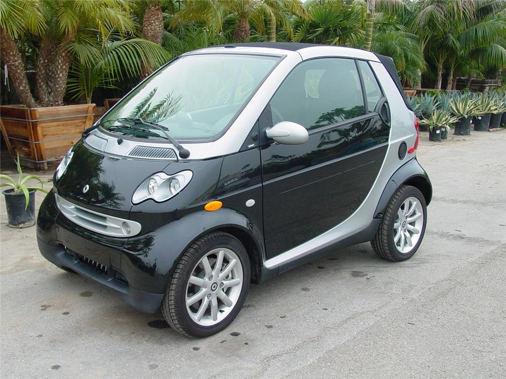 2007 SMART CAR CABRIO FORTWO CONVERTIBLE - Front 3/4 - 61745