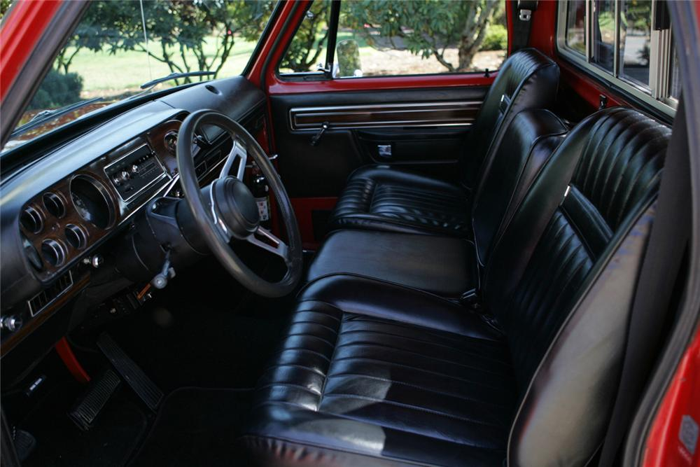 1978 DODGE D15 LIL RED EXPRESS PICKUP - Interior - 61806