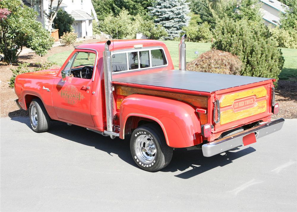 1978 DODGE D15 LIL RED EXPRESS PICKUP - Rear 3/4 - 61806