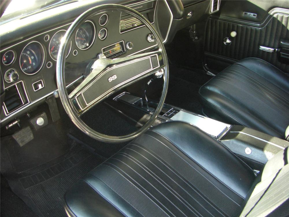 1970 CHEVROLET CHEVELLE 2 DOOR - Interior - 61812