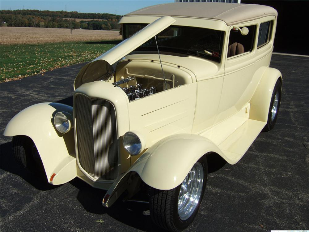 1931 ford model a 2 door sedan with trailer 61813 for 1931 ford model a 4 door