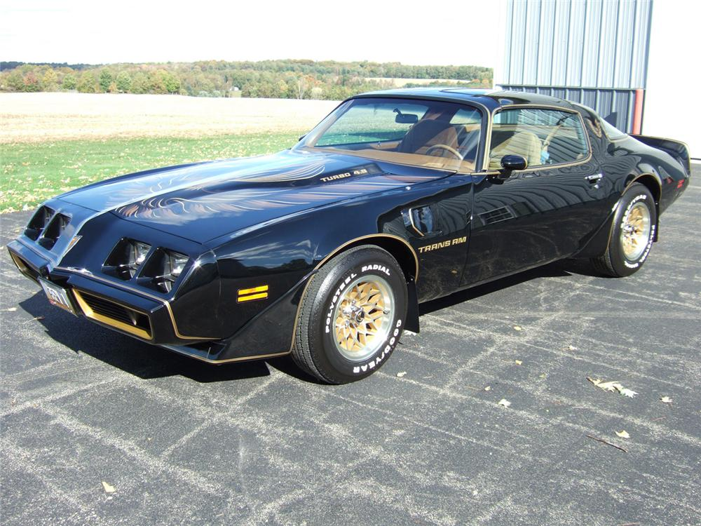 1980 PONTIAC TRANS AM TURBO SPECIAL EDITION - Front 3/4 - 61814
