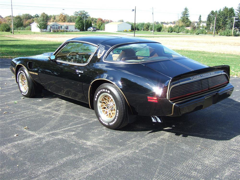 1980 PONTIAC TRANS AM TURBO SPECIAL EDITION - Rear 3/4 - 61814